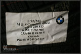 BMW M1 M3 styling 270M 18 inch originele velgen 36112240813