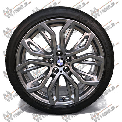 BMW X5 X6 M Performance Styling 375 21 inch originele velgen 6796149 | 6796150