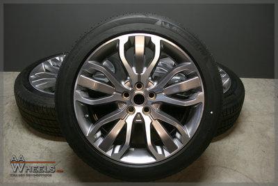 Range Rover 21 inch velgen origineel 5 Split spoke Styling 507
