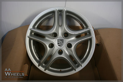 Porsche Cayenne 18 inch originele velgen 7L5601025S