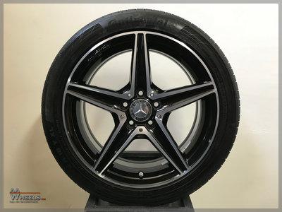 Mercedes C43 C450 W205 AMG 18 inch originele velgen A2054014800