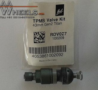 Origineel HUF TPMS RDKS RDCi ventiel / ventielen los (Grijs)