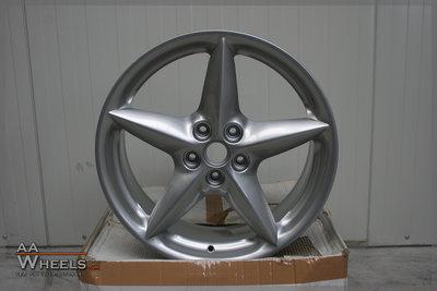 Ferrari 360 18 inch originele velgen 164173 / 164175 Zilver